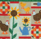 Chickens In The Garden Quilt Pattern