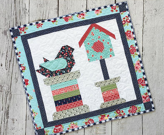 Feathered Friends Summer Pattern