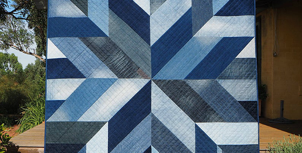 Blue Giant Quilt Pattern