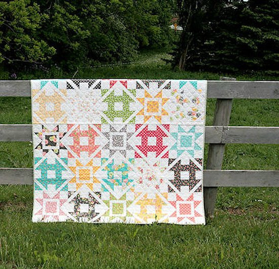 Dashing Quilt Pattern