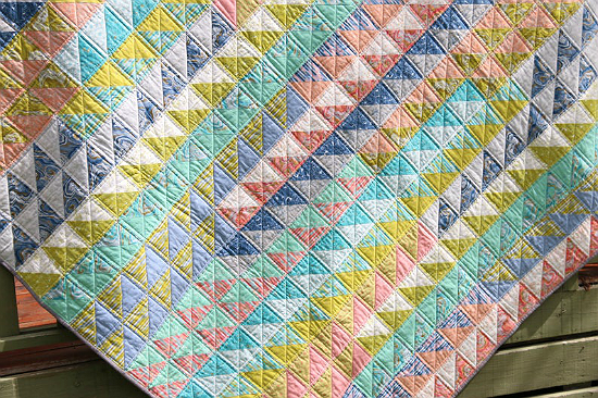 Go With The Flow Quilt Pattern