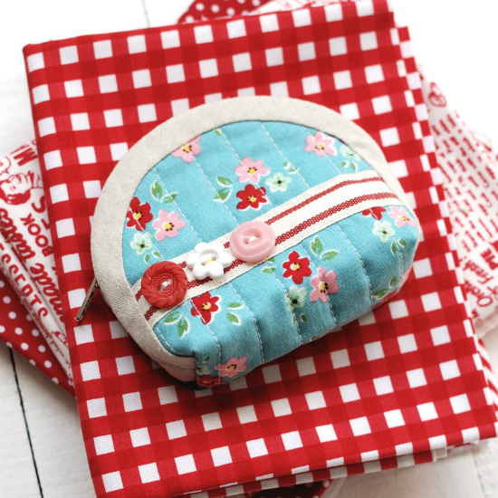 Quilted Notions Pouch Sewing Pattern