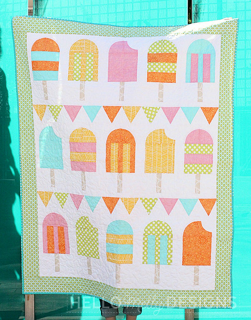 Popsicle Parade Quilt Pattern