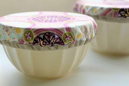 Potluck Bowl Covers Tutorial