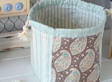 Handy Drawstring Pouch Pattern