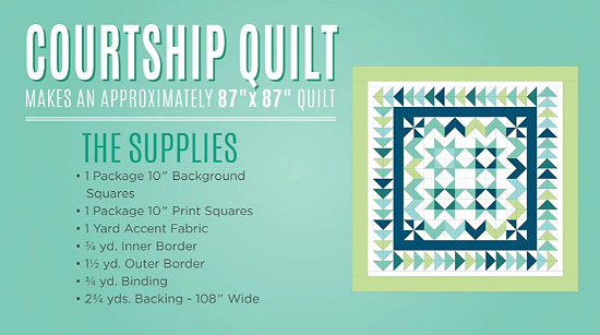 Courtship Quilt Tutorial