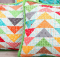 Autumn Love Flying Geese Pillow Tutorial