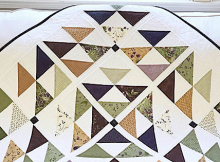 Diamonds in the Meadow Quilt Pattern