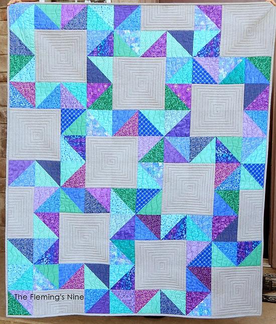 Falling Stars Quilt Pattern