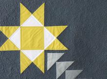 Shooting Star Mini Quilt Pattern