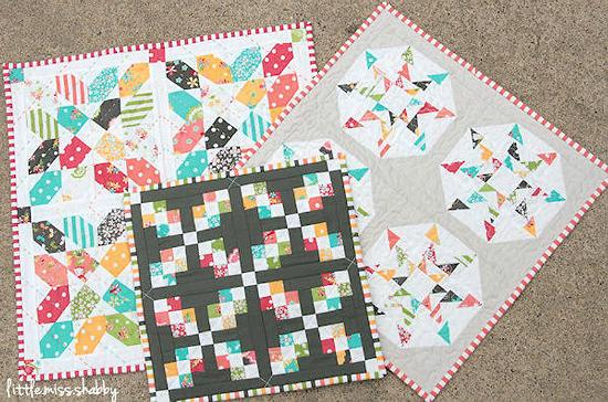 Sweetness Mini Quilt Trio Pattern