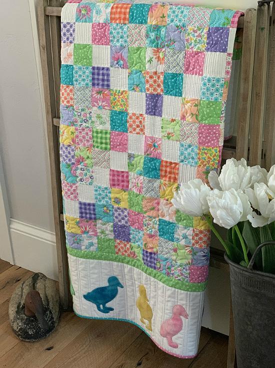 Duck Quilt Pattern