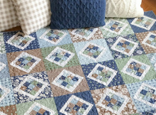 9 Patch Pivot Quilt Pattern