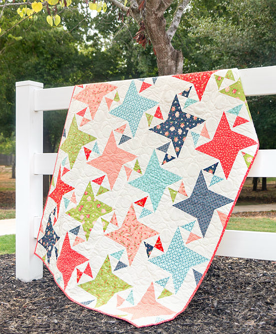 Fat Quarter Flowers Quilt Pattern