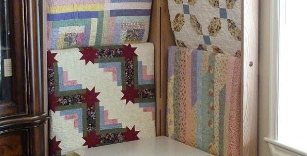 Side-by-Side Quilt Ladder Tutorial