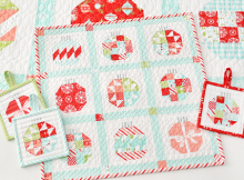 Vintage Holiday Quilt Pattern