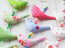 Fabric Birds Pattern