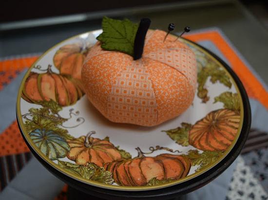 Fabric Pumpkin Pattern