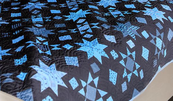 Bright Stars Quilt Pattern