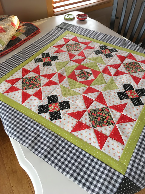 Winter Flurries Mystery Quilt Pattern