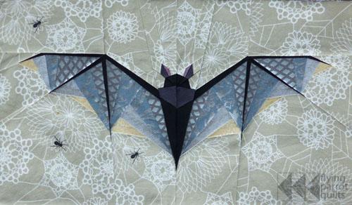 Midnight Bite Quilt Block Pattern