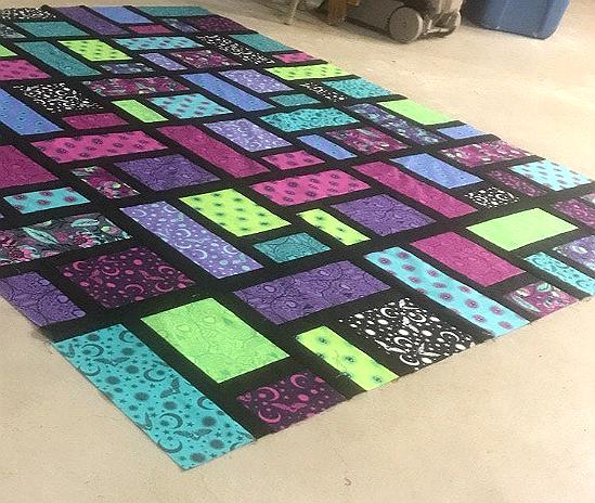 Brickwork Quilt Pattern
