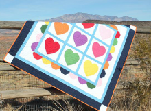 Color Me With Love Quilt Pattern