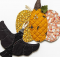 Crow and Pumpkin Pot Holders Pattern