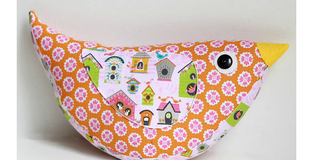 Katie Bird Pillow Pattern