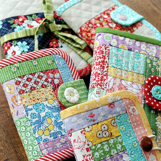 Quilted Needle Book Sewing Kit Pattern