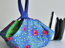 Padded Travel Mini Iron Caddy Pattern