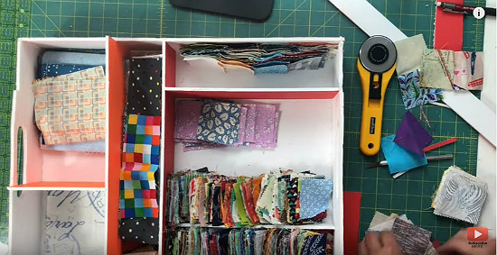 Use Every Bit of Space with This Sewing Room Hack