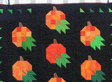 Pumpkin Harvest Quilt Pattern