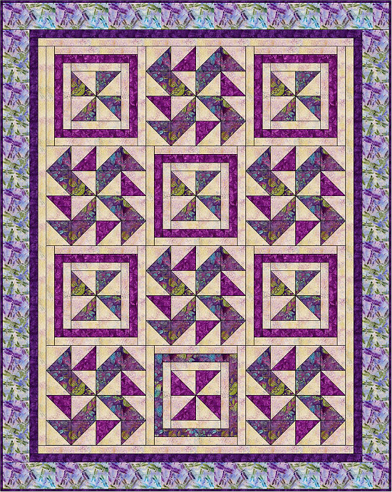 Spinners Quilt Pattern