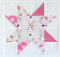 How to Make a Sawtooth Star Quilt Block