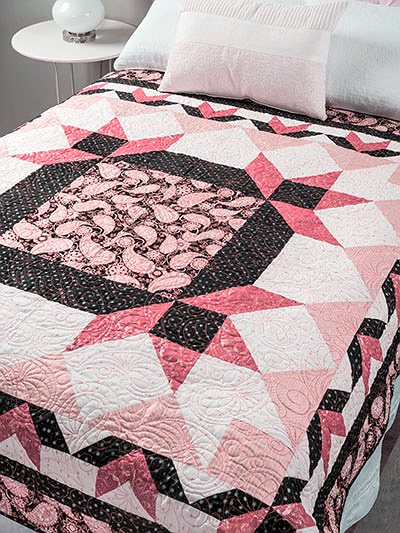 Whimscal Medallion Quilt Pattern