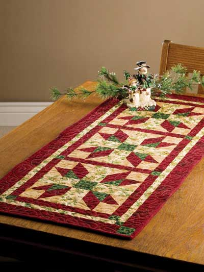 All Wrapped Up Table Runner Pattern