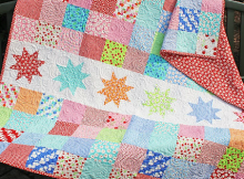 Star Break Quilt Pattern