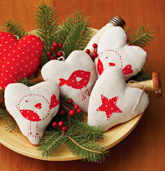 Heartfelt Ornaments Pattern