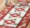 Holiday Bows Table Runner Pattern