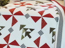 Evergreen Christmas Quilt and Pillow Sham Pattern