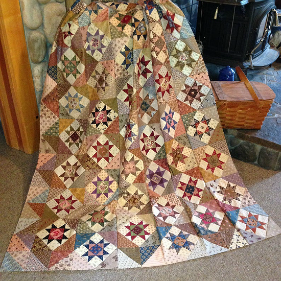 Lil' Orphan Scrappy Quilt Pattern