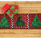 Patchwork Christmas Tree Runner Pattern