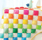 Rainbow Puffs Quilt Pattern
