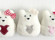 Sweetheart Bear Christmas Ornament Pattern