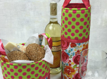 Wine Tote and Mini Basket Pattern