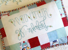 Winter Wonderland Pillow Pattern