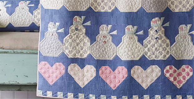 Happy Winter Snowmen Quilt Pattern