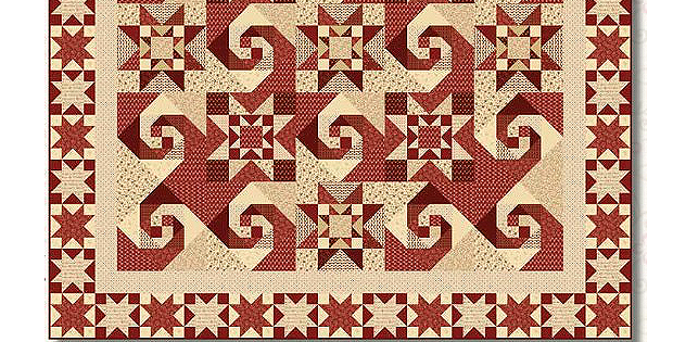 Berries & Blossoms Quilt 2 Pattern