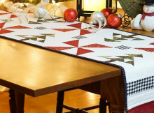 Evergreen Table Runner Pattern